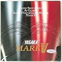 Yasaka Mark V Table Tennis Rubber (Red)