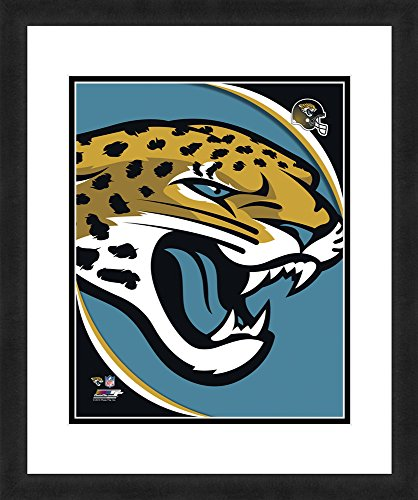 (NFL Jacksonville Jaguars Logo, Beautifully Framed and Double Matted, 18