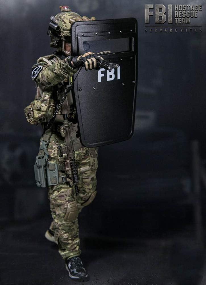 Escala 1/6 Agente Estadounidense del FBI Figura De Acción ...