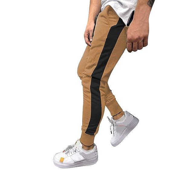 DUJIE Gym Pantalones Hombre Pantalon Chandal Hombre Pantalon ...