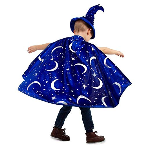 Travel Costumes Ideas - Little Adventures Wizard Costume Cape &