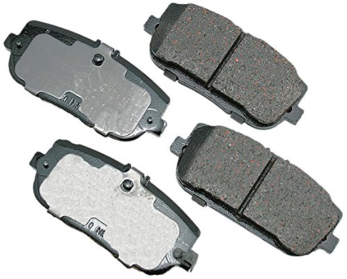 Akebono ACT1180 ProACT Ultra-Premium Ceramic Rear Brake Pad Set For 2006-2010 Mazda MX-5 Miata