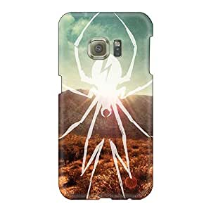 Scratch Resistant Cell-phone Hard Covers For Samsung Galaxy S6 (PrA18121KeHm) Customized Lifelike My Chemical Romance Band Series