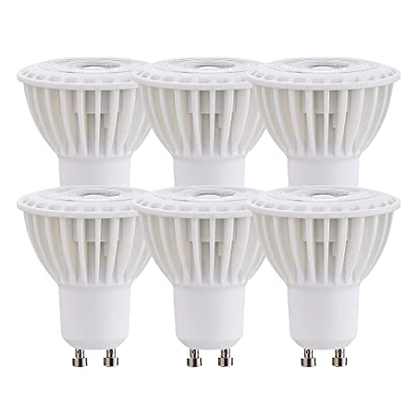 Ossun - Bombillas LED GU10 (6 unidades, luz blanca cálida, 3000 K,