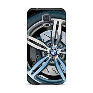 High Quality MikeEvanavas Red Bmw M6 Wheel Section Skin Cases Covers Specially Designed For Galaxy - S5