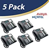 Nortel Norstar Telephone, Charcoal, 5 Pack (T7316e)