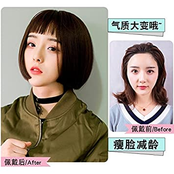 Amazon The New Trend Wig Hairstyle Sweet Temperament Fake Wig