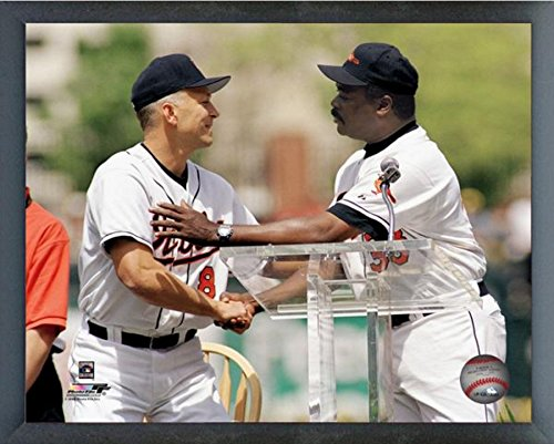 Cal Ripken Jr. & Eddie Murray Baltimore Orioles MLB 3000th Hit Club Photo (Size: 12