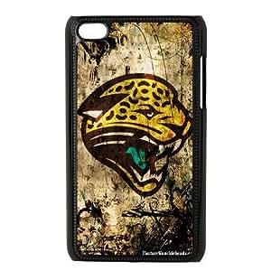 iPod Touch 4 Phone Case Black Jacksonville Jaguars JIL662695