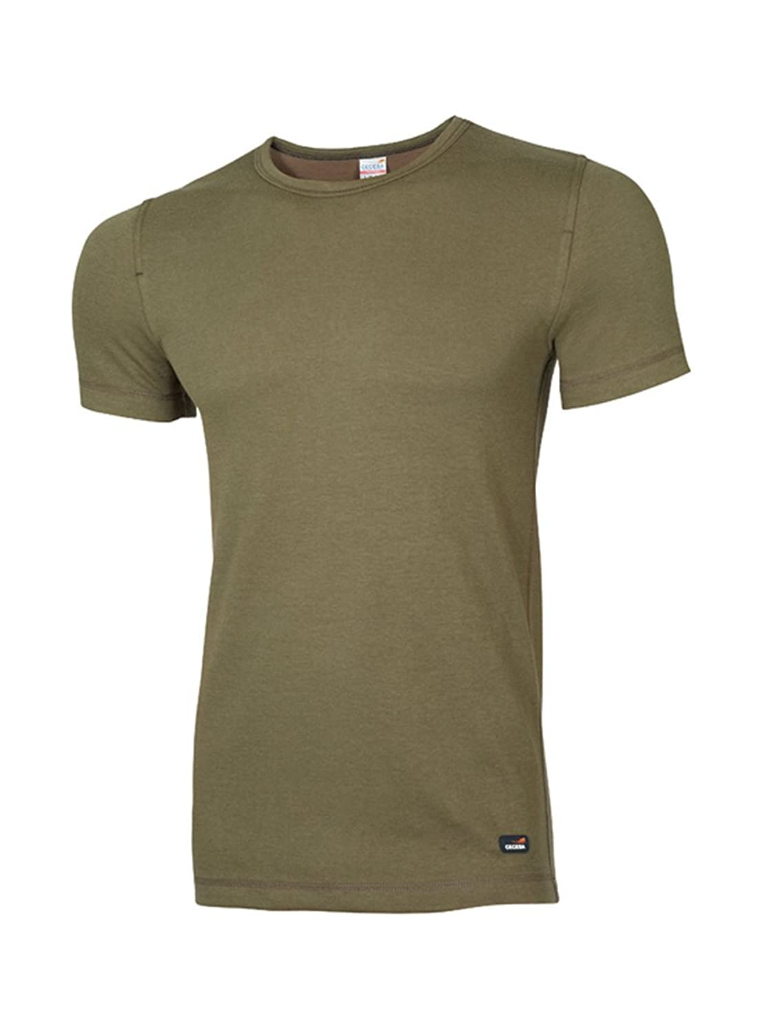 Ceceba 10026 Thermo Function T-Shirt 4er Pack - Navy, Grey Melange, Olive - M bis 2XL