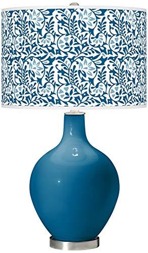 Mykonos Blue Gardenia OVO Table Lamp - Color + Plus ()