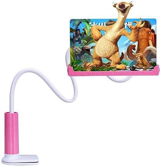 YK GAME Lupa de Pantalla para Smartphones Amplificador antiradiación para teléfono móvil Soporte Plegable para,Pink: Amazon.es: Hogar