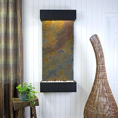 BluWorld Classic Quarry Vertical Indoor Wall Fountain Raja Slate