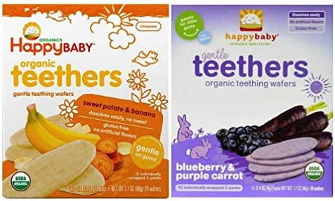 Baby & Toddler Snacks: Happy Baby Teethers