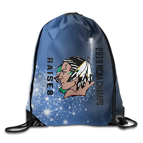 Price comparison product image University Of North Dakota Fighting Sioux Logo Drawstring Backpack Bag White