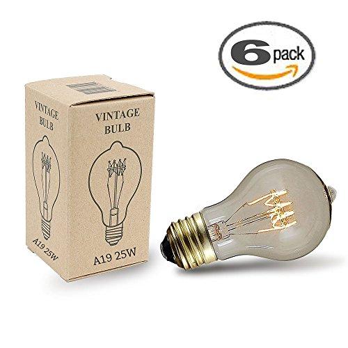 Traditional Vintage Filament Edison Medium