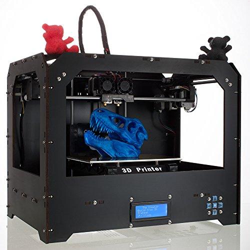 CTC Bizer double extrudeuse Desktop imprimante 3D, Mk8, Factory Direct Prix le plus bas, avec l'ABS ou Pla Spool Filament gratuit