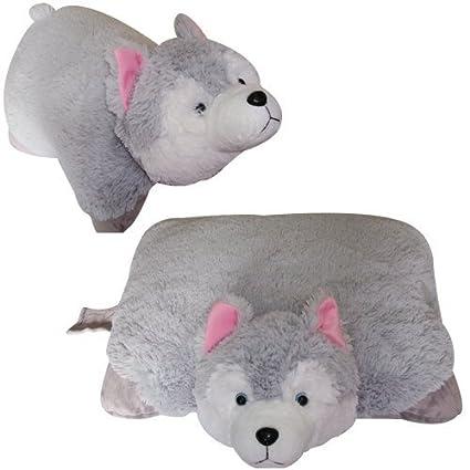Amazon Com Small Wolf Pet Cushion Animal Pillow Animallow Brand