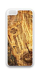 TUTU158600 Custom made Case/Cover/ iphone 5c cases for women - Retro banknotes