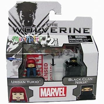 Marvel Minimates The Wolverine Series 52 Mini Figure 2-Pack ...
