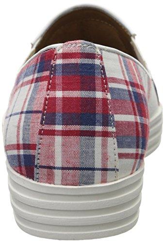 Sea Aerosoles White Combo Fashion Salt Red Women's Sneaker zzqnax8Y