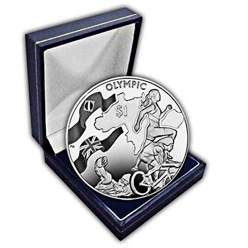 British Virgin Islands 2016 Rio de Janeiro Olympics Triathlon Coin in a - British Triathlon
