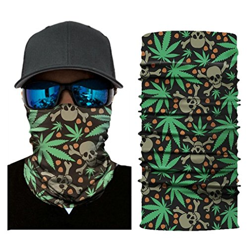 Printed Goggles - UMFun 3D Printed Cycling Face Mask Motorcycle Head Scarf Neck Warmer Ski Balaclava Headband 25x50cm (E)