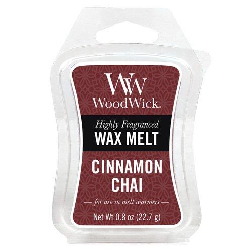Woodwick Mini Wax Melt Cinnamon Chai, Red 57104