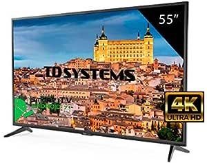 Televisor Led 55 Pulgadas Ultra HD 4K Smart TD Systems K55DLG8US ...
