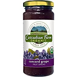 Cascadian Farm, Organic Spread Grape Concord, 10 oz