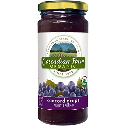 Cascadian Farm, Organic Spread Grape Concord, 10 oz