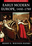Early Modern Europe, 1450-1789 9780521005210