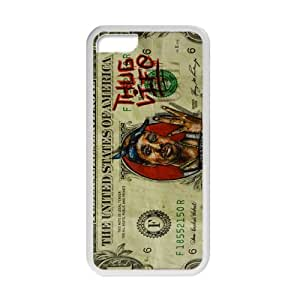 YESGG Money Pattern Cell Phone Case for Iphone 5C