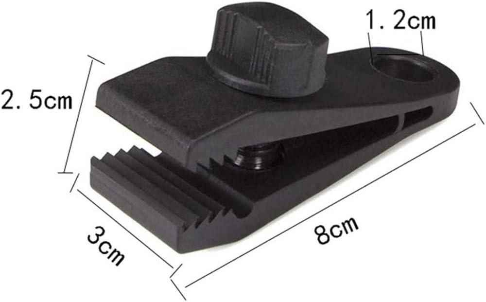 Pinces /à clip lagriculture et le jardi Pour lext/érieur R/ésistantes /à l/'usure Pour le camping Pinces en linol/éum r/éutilisables /à haute performance R/ésistantes et r/éutilisables