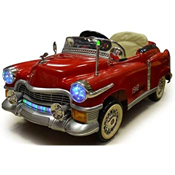 kids ride on classic cadillac style power riding wheels rc remote control car colors sent