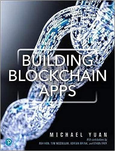 Building Blockchain Apps