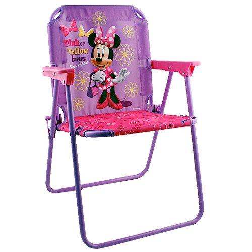 Marvelous Amazon Com Mickey Friends Patio Chair Minnie Mouse Customarchery Wood Chair Design Ideas Customarcherynet