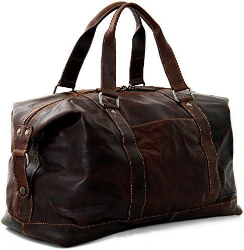 Jack Georges Voyager Duffle Bag – Brown
