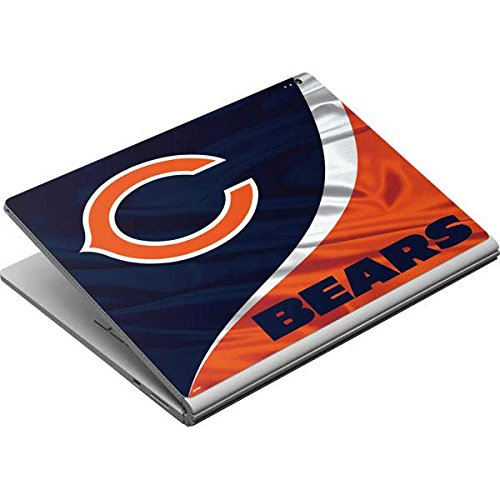 Skinit Chicago Bears Surface Book Skin - Officially Licensed NFL Laptop Decal - Ultra Thin, Lightweight Vinyl Decal Protection