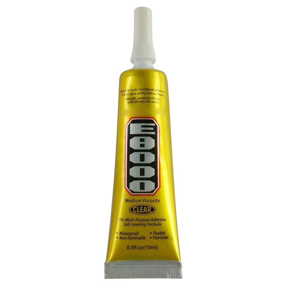 Martinimble Glue sealant sealant Glue Waterproof sealant Glue Water sealant Glue E8000 Clear Adhesive Sealant Glue for DIY Phone Border Diamond Clothes