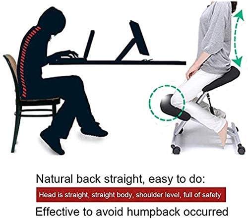 ZHJING Chaise ergonomique ergonomique ergonomique Chaise de bureau Chaise orthopédique Tabouret Correction de posture Bureau Maison