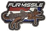 Mil-Spec Monkey Fur Missile PVC Morale Patch