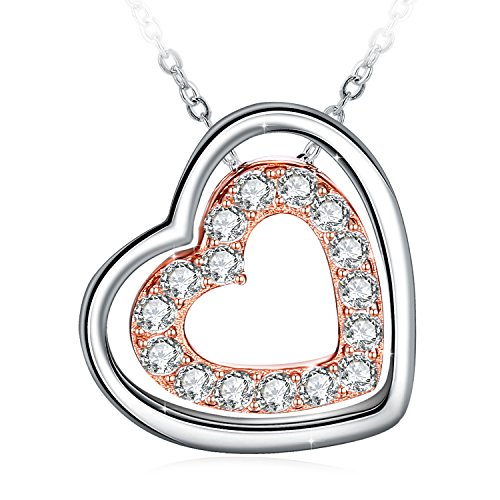 Heart Necklace, Sterling Silver Necklace J.Rosée Fine Jewelry for