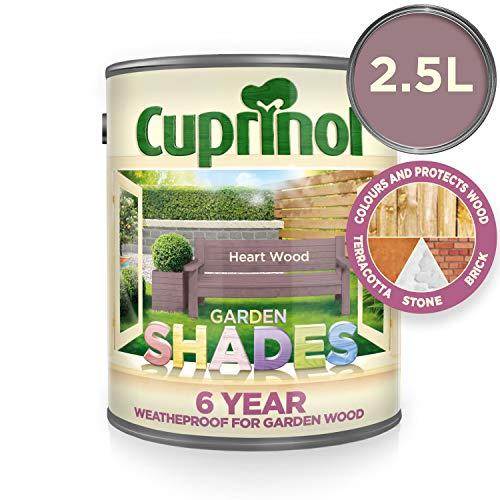 (Cuprinol 5282515 Garden Shades Exterior Woodcare, Heart Wood )