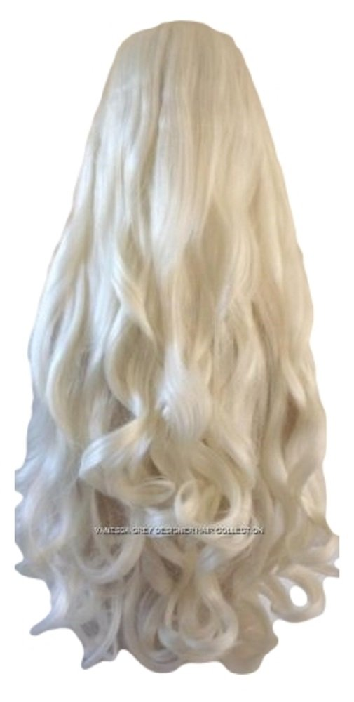 Amazon hair extensions clip in set extra long 26 ins amazon hair extensions clip in set extra long 26 ins platinum blonde wavy 200 grms synthetic hair clip extentions beauty pmusecretfo Image collections