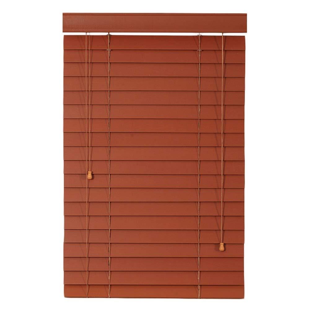 LiTingDz ロールスクリーン 窓/ドア、多色、カスタマイズ可能なサイズのための側面の引きを用いる木製のローラーのブラインド/縦の停電の持ち上がるベネチアンブラインド/防水のべと病の陰影のカーテン (Color : A, Size : 135x175cm) 135x175cm A B07T5ZSWHJ