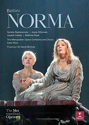Bellini: Norma (Met Live Recording) (release tbc)(DVD)