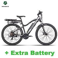 21 vitesses, 27,5 pouces vélo électrique, 36V batterie d'invisibilité, fourche à suspension, les deux freins à disque, vélo de montagne E vélo
