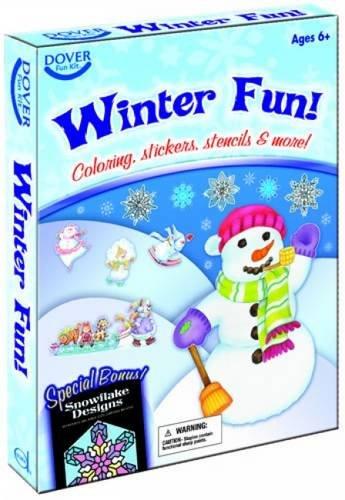 Winter Fun! Fun Kit (Dover Fun Kit) (Kits Fun Dover)