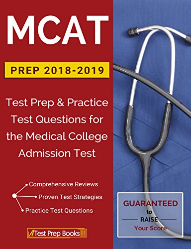 Amazon mcat prep 2018 2019 test prep practice test questions mcat prep 2018 2019 test prep practice test questions for the medical college fandeluxe Image collections